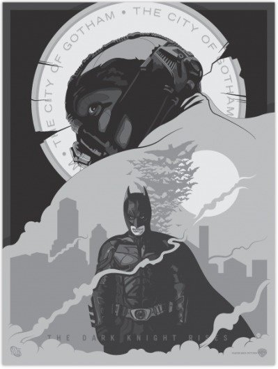 The Dark Knight Rises - MoscatiVision #bale #movie #rises #knight #the #batman #nolan #poster #christian #dark #christopher