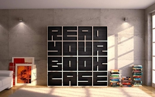 Colossal | art + design #design #books #book #furniture #case #reading