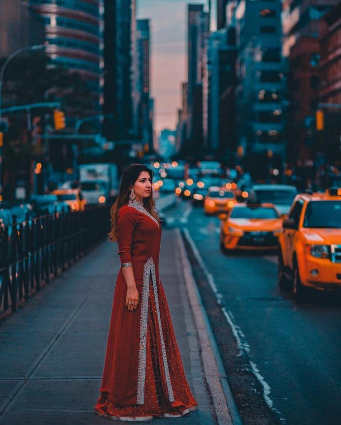 Moody Street Style Portrait Photography by Jaime Penzellna