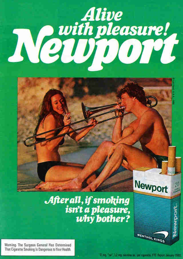 14 Hilariously Evil Cigarette Ads From Yesteryear