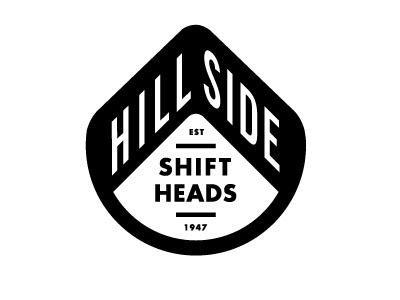 FFFFOUND! | Dribbble - Mpls Bike Gangs / HILLSIDE SHIFT HEADS by Allan Peters #logo