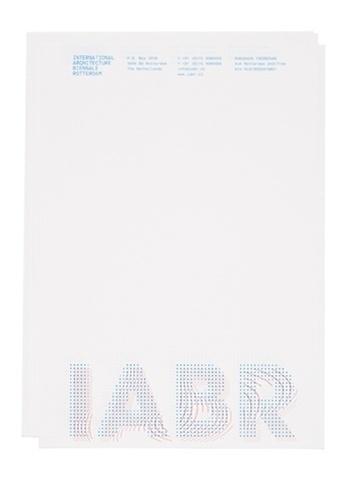 Stout/Kramer #design #simple #corporate #identity #blue #letterhead #typography