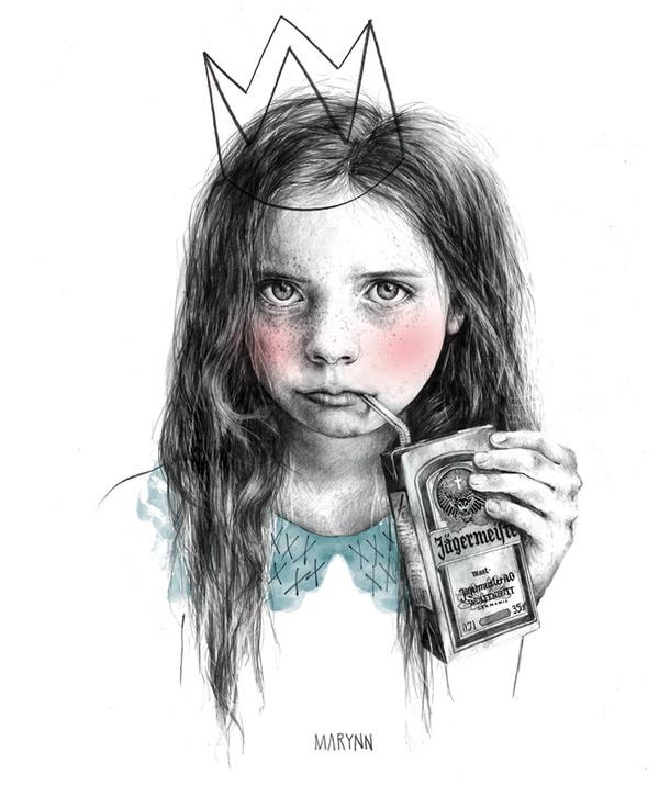 OH MY LOVELY CHILD #illustration #pen