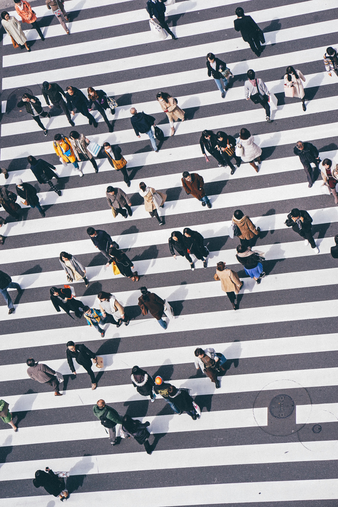 #street #city #pedestrians #photo by Edwardkb