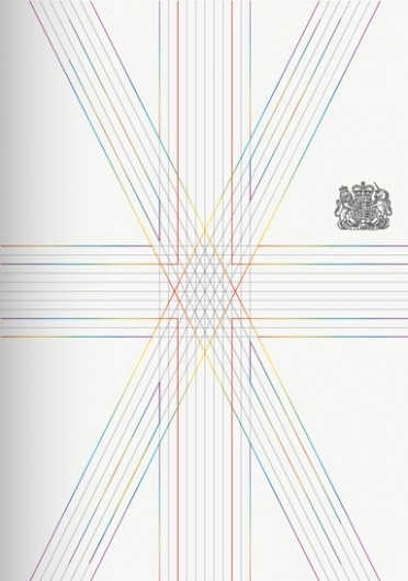 rethink-the-uk-passport | NEWS | the most comprehensive archives of architecture and design content on the web #flag #design #passport