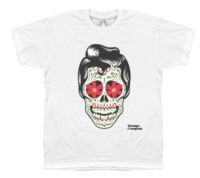 Strange Company Tattoo Man T-Shirt #tattoo #t-shirt