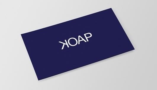 KOAP / Identity / Selected Work / Shape #logo #card