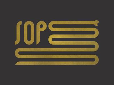 SOP Flag #flag #logo #snake
