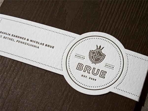 Wedding Invitation - Nick Brue #print