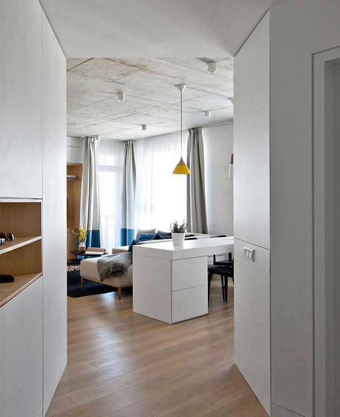 How to Turn Small Urban Space into Stylish City Dwelling -#decor,#interior,#interiordesign,#homedecor