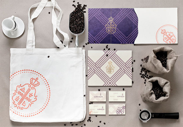 London House of Coffee identity #identity systems