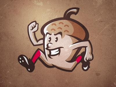 Gonuts #baseball #illustration #vector #nut