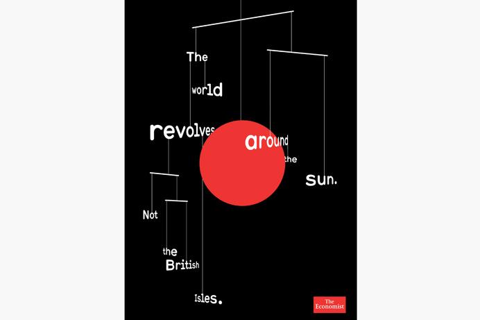 non-format The World Revolves — Illustration for the Economist