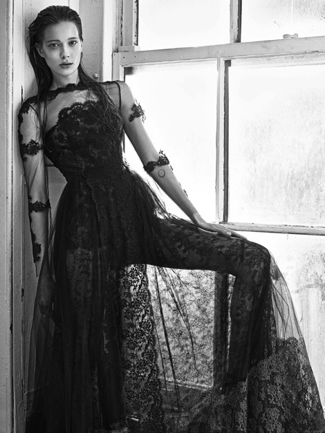 Vogue Paris #fashion #model #photography #girl