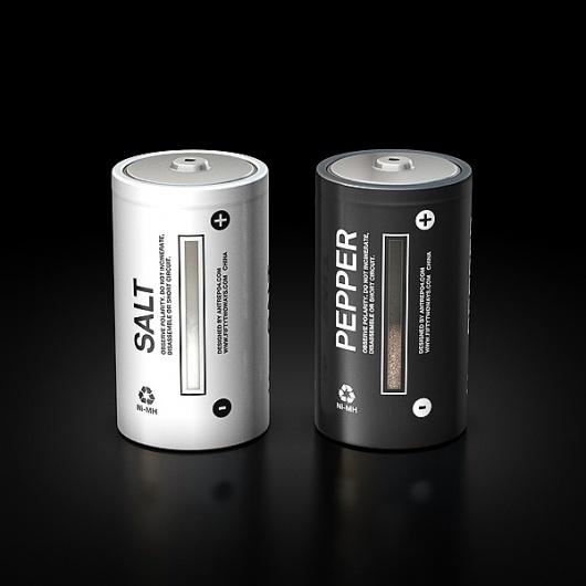 Antrepo / Salt & Pepper Cell #minimal #battery
