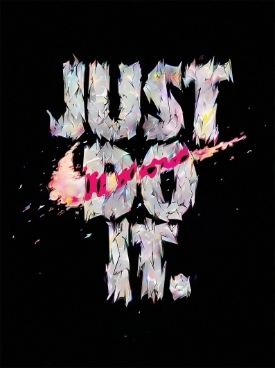 All sizes | JUST DO IT | Flickr - Photo Sharing! #just #illlustration #do #nike #it #sport #swoosh #typography
