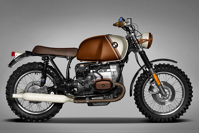 BMW R45 'Pure' by Ton-Up Garage #bikes #bmw #r45 #motorcycles