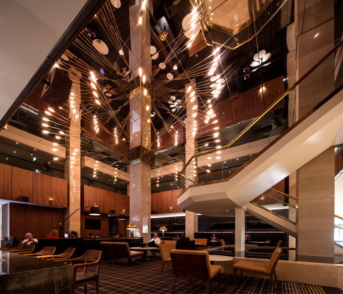 Coal Cellar & Grill by Landini Associates - #architecture, #decor, #interior, #restaurant, #hotel