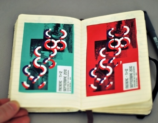 Sketches - Moleskine research - graphicwand #graphicwand #invitation #note #book #photography #moleskine #typography