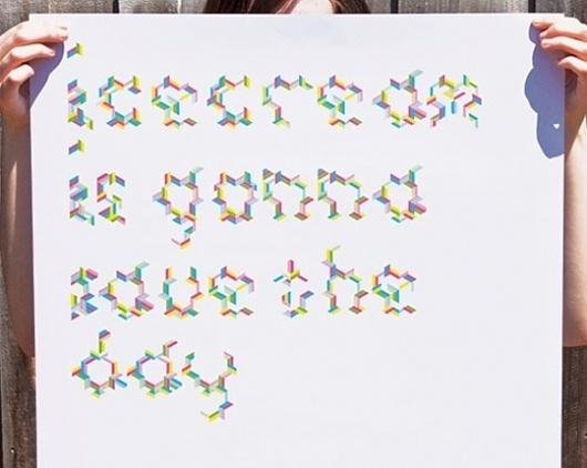 Icecream, Peter Borg's Portfolio #icecream #typography