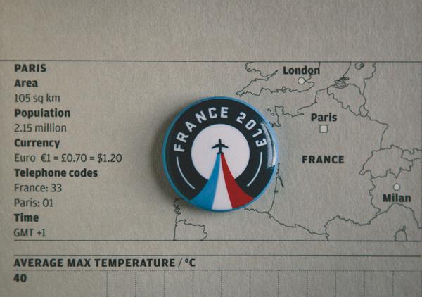 Paris Pin #paris #airplane #button #design #geometric #map #pin #circle