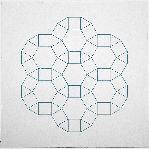#283 Council – A new minimal geometric composition each day