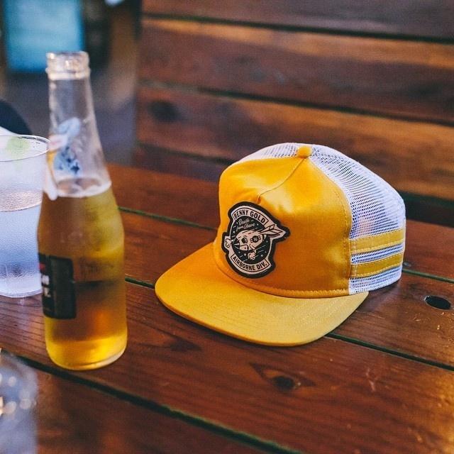 beeny gold, headwear,