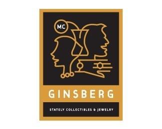 MC Ginsberg Jewelers #vase #woman #jewelry #silhouette #ginsberg #man #face