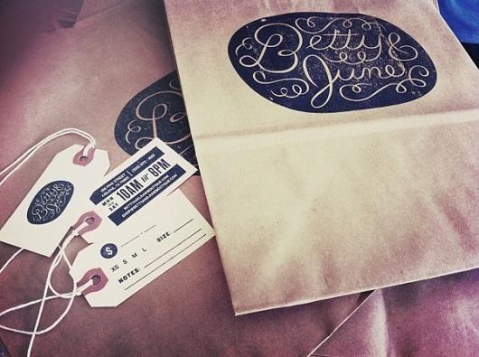 Black*Eiffel: Betty & June designed by Ryan Feerer #packaging #branding