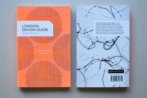 Peter Crawley | Stitched Illustrations #cover #london #design #guide