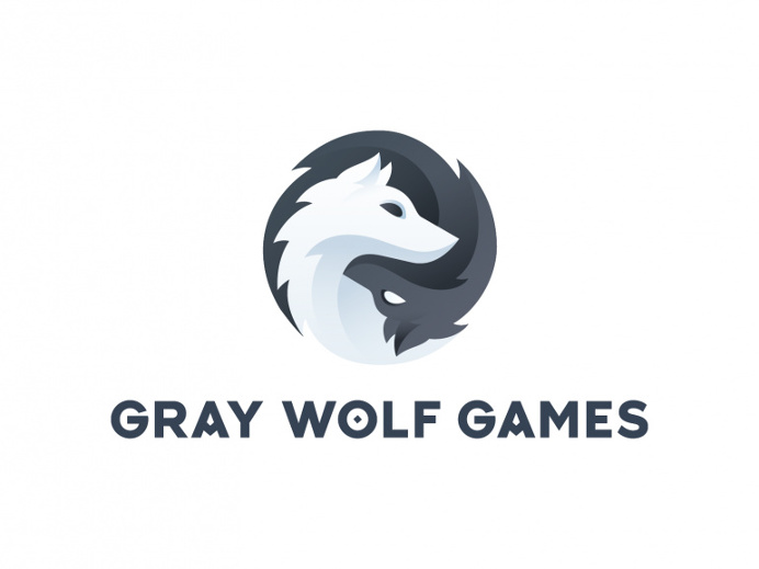 Gray Wolf Games – Logo by Jord Riekwel