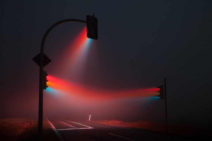 Traffic lights | Flickr - Photo Sharing! #photo #fog #lights