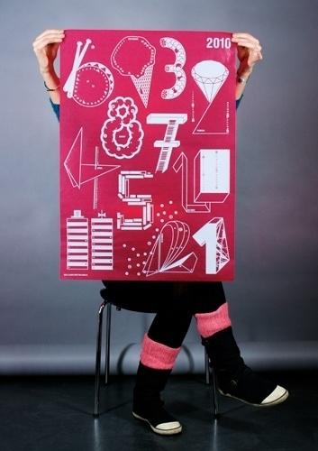 Kalender 2010 : Claudia Kappenberger #silkscreen #edition #of #calendar #plakate #2010 #numbers #100 #beste