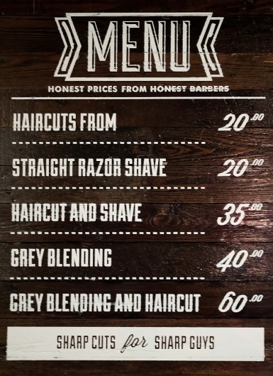 Market Street Barbers - As Ever #type #barber