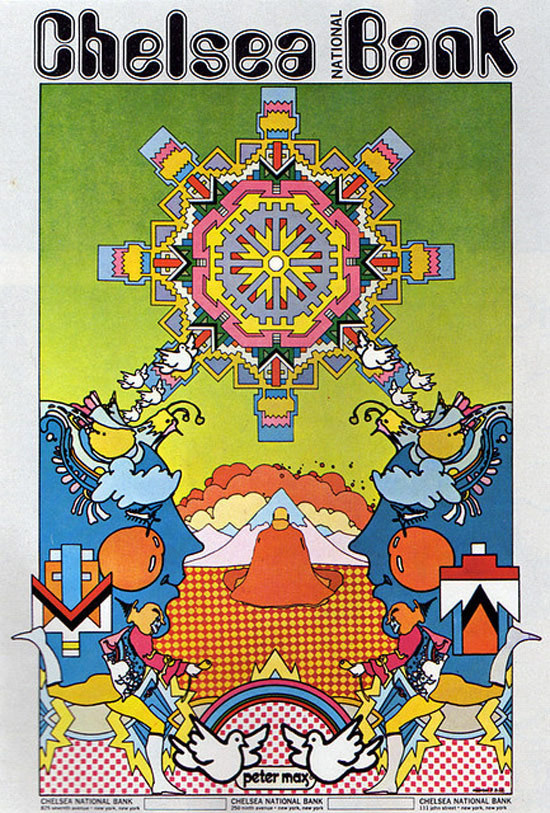 25 Amazing Examples of Psychedelic Artwork #max #60s #peter #poster #psychedelic