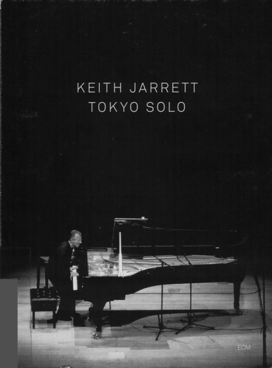 Images for Keith Jarrett - Tokyo Solo #album #fuller #sans #black #minimalism #cover #ecm #records