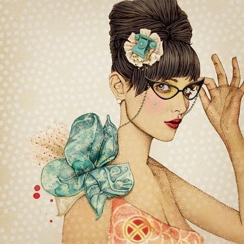 Ã‹lodie, french illustrator //La Marelle (2010) #illustration #art