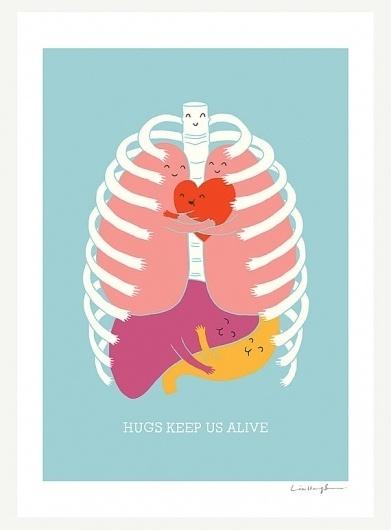 il_570xN.249303401.jpg (изображение «JPEG», 570x771 пикселов) #illustration #hugs