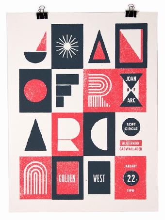 Büromarks #retro #minimal #poster