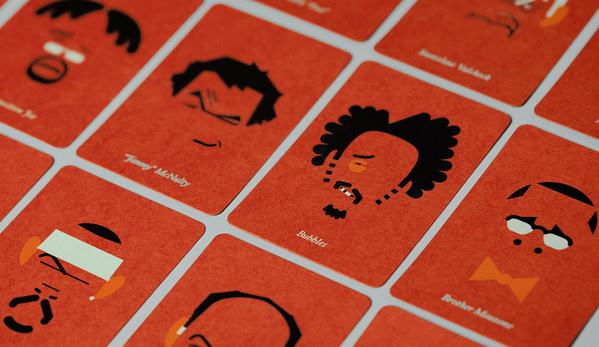 the wire cards on the Behance Network #atipo #card #illustration #wire