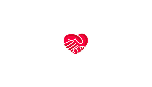 VOL II LOGOS on Behance #mark #heart #red #branding #hands #design #brand #symbol #and #logo #hand