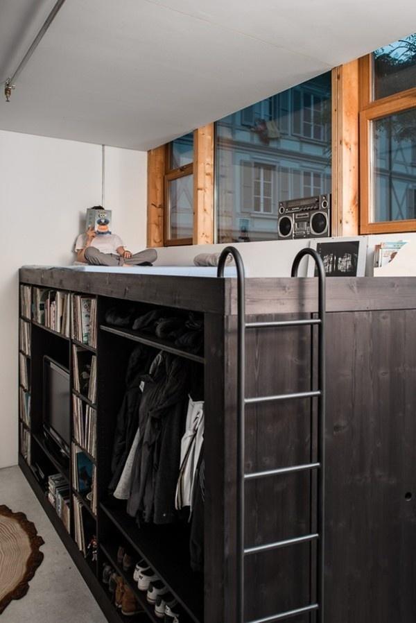 The Living Cube7 #interior #design #decor #compact #living #deco #decoration