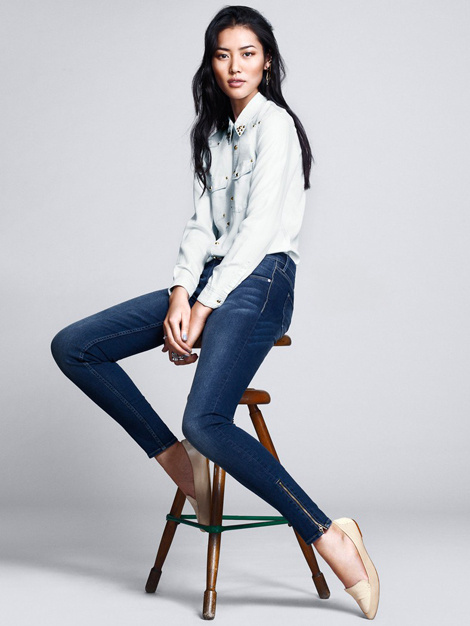 Liu Wen by Andrew Yee for H&M #fashion #photography
