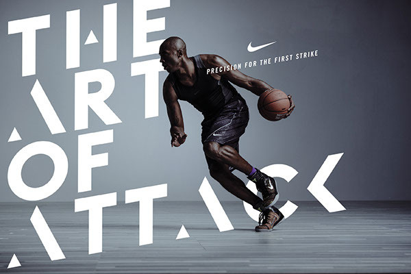 Kobe X — The Art of Attack on Behance #type #sports #treatment #typography