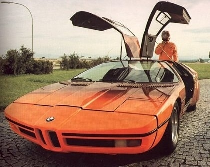 1972 BMW Turbo (Michelotti) - Концепты #design #car