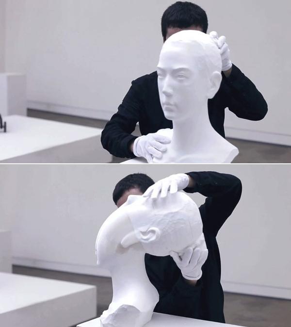 The Bizarre, Flexible Paper Sculptures of Li Hongbo #sculpture #art