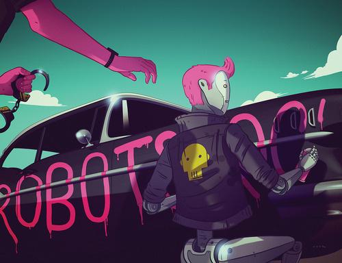 X__X • 死 者 の 顔 • - Nook #anarchy #robot