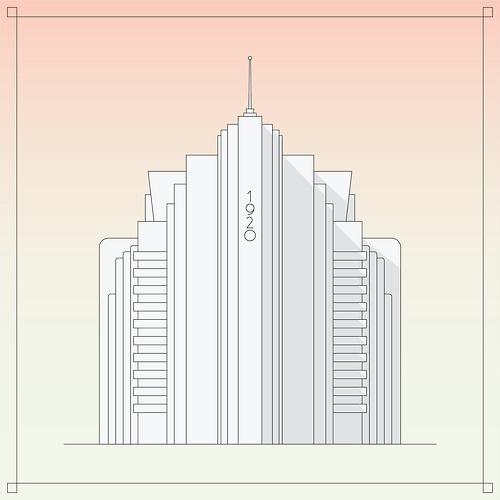 ▲ this instead of nothing #building #eeverardo #art #deco #gradient #everardo #galvn