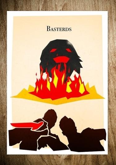 BASTERDS - Rocco Malatesta Posters & Prints #movie #malatesta #graphic #rocco #basterds #illustration #poster