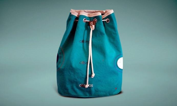 Free Sack Cloth Bag Mockup